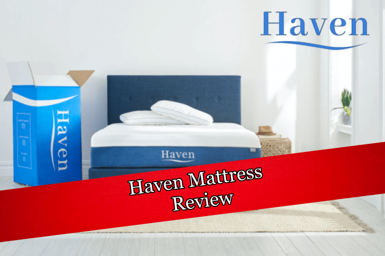 a Haven mattress being reviewed