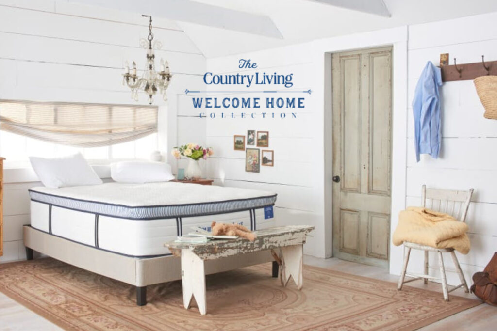 Country Living Welcome Home mattress collection