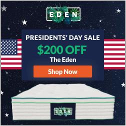 Eden mattress banner