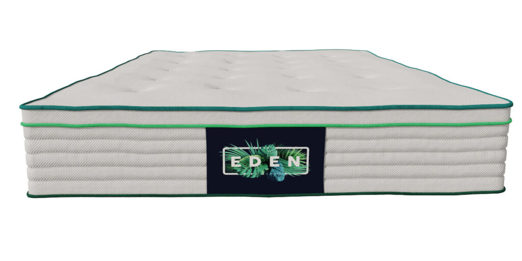 Organic Eden Sleep mattress from the front view