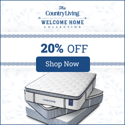 Country Living 3 mattresses